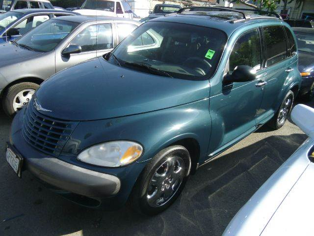 2001 CHRYSLER PT CRUISER LIMITED EDITION 4DR WAGON teal 16 inch wheels anti-theft alarm system