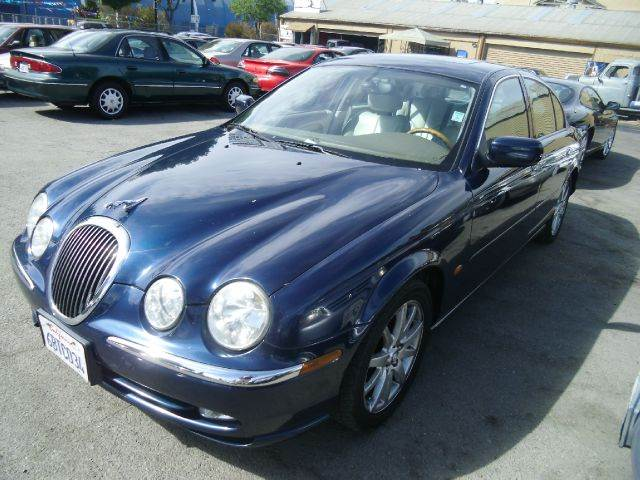 2000 JAGUAR S-TYPE 40 4DR SEDAN blue 16 inch wheels abs - 4-wheel alloy wheels anti-theft ala