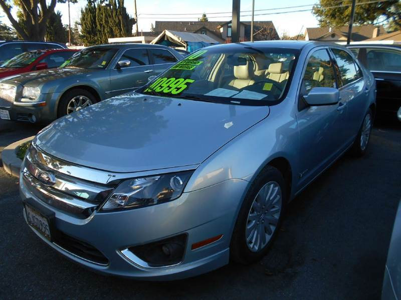 2010 FORD FUSION HYBRID BASE 4DR SEDAN blue abs - 4-wheel air filtration airbag deactivation -