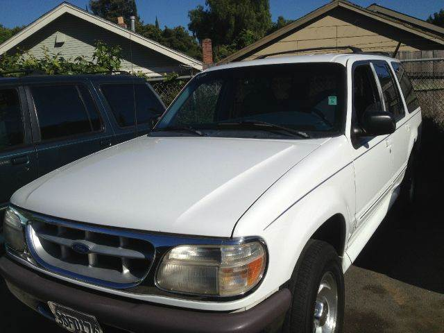 1997 FORD EXPLORER white 4wdawdabs brakesair conditioningalloy wheelsanti-brake system 4-wh