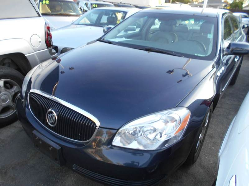 2007 BUICK LUCERNE CXL V6 4DR SEDAN blue 2-stage unlocking - remote abs - 4-wheel air filtratio