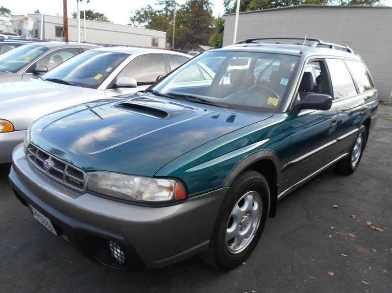 1997 SUBARU LEGACY OUTBACK AWD 4DR WAGON green abs - 4-wheel antenna type - power cassette cru