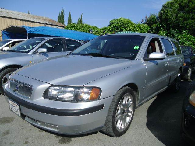 2004 VOLVO V70 25T 4DR WAGON silver 16 inch wheels abs - 4-wheel alloy wheels anti-theft alarm