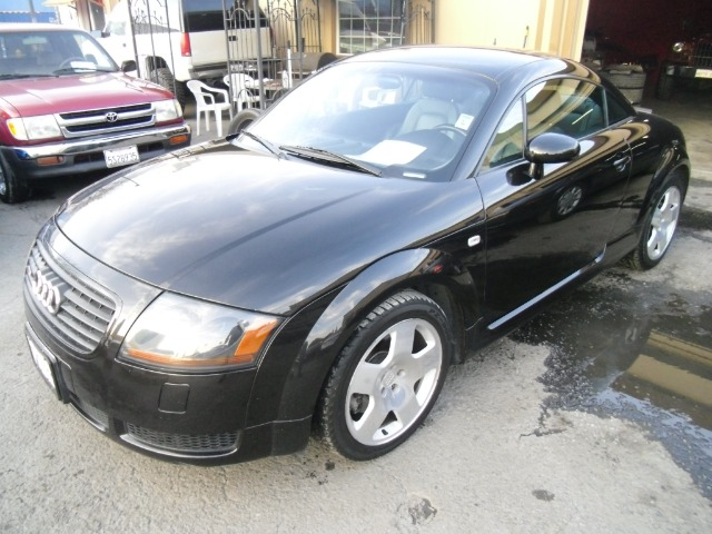 2001 AUDI TT COUPE QUATTRO black 4wdawdabs brakesair conditioningalloy wheelsamfm radioanti