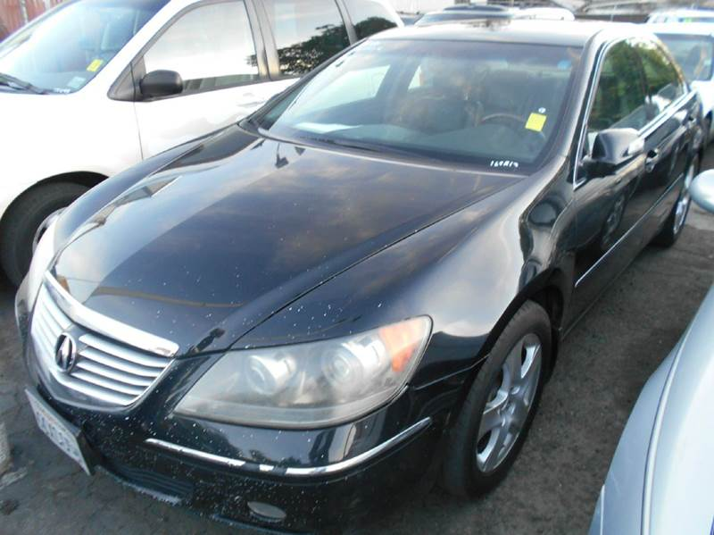 2005 ACURA RL SH-AWD 4DR SEDAN black abs - 4-wheel anti-theft system - alarm cd changer center