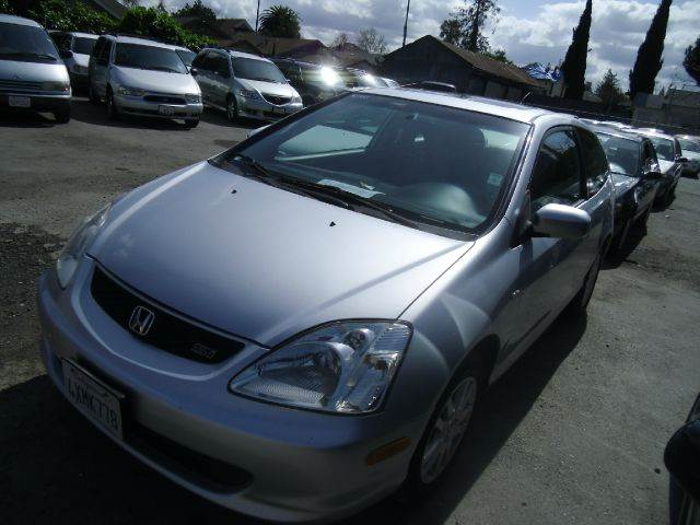 2002 HONDA CIVIC SI 2DR HATCHBACK silver abs - 4-wheel anti-theft system - alarm center console