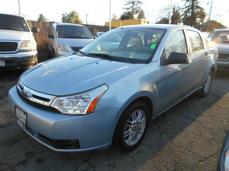 2009 FORD FOCUS SE 4DR SEDAN blue airbag deactivation - occupant sensing passenger alternator -