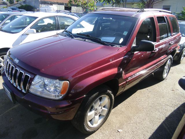 2001 JEEP GRAND CHEROKEE LIMITED 4WD maroon 4wdawdabs brakesair conditioningalloy wheelsamfm