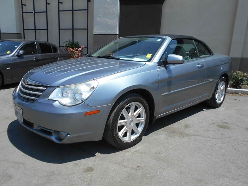 2008 CHRYSLER SEBRING LIMITED 2DR CONVERTIBLE gray 2-stage unlocking doors abs - 4-wheel air fi