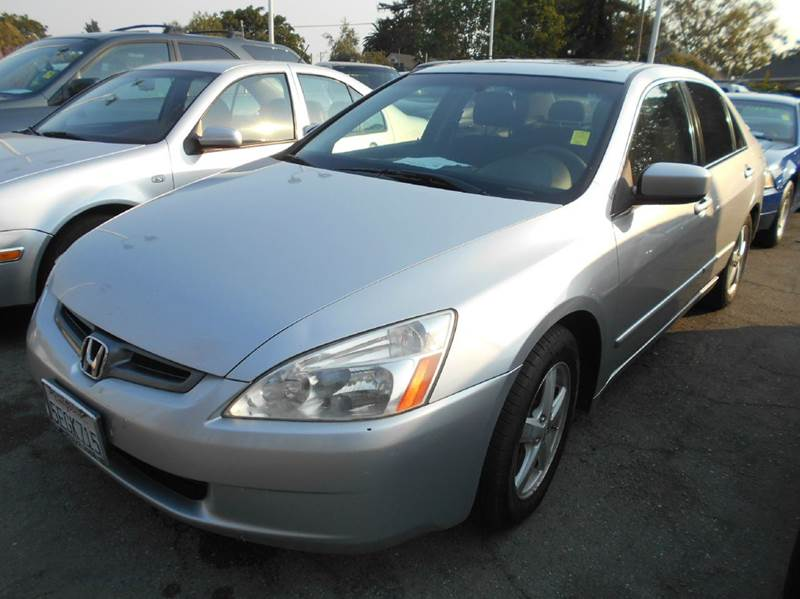 2003 HONDA ACCORD EX 4DR SEDAN silver abs - 4-wheel anti-theft system - alarm center console c