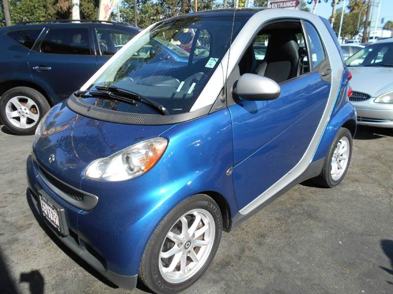 2008 SMART FORTWO PASSION 2DR HATCHBACK blue 2-stage unlocking abs - 4-wheel airbag deactivatio