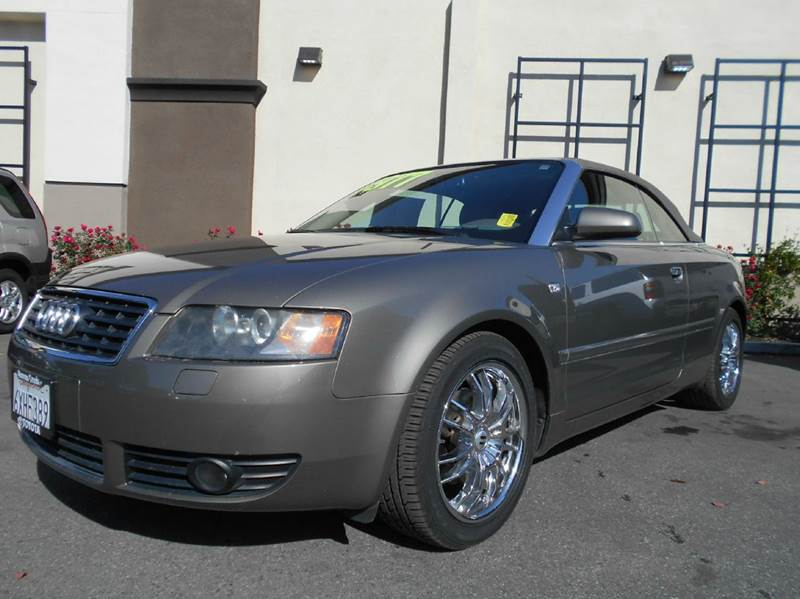 2004 AUDI A4 18T 2DR TURBO CABRIOLET gold abs - 4-wheel anti-theft system - alarm cd changer