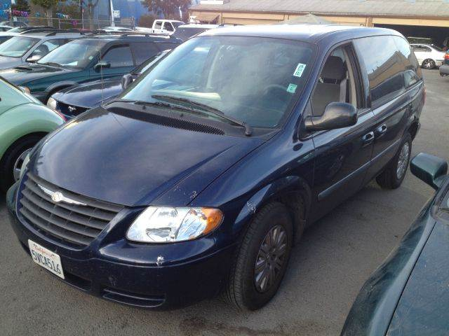 2006 CHRYSLER TOWN AND COUNTRY 4DR MINIVAN blue antenna type anti-theft system - engine immobili