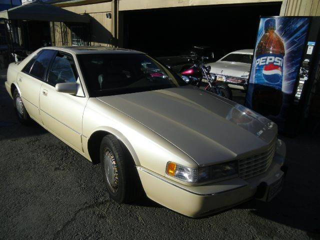 1993 CADILLAC SEVILLE STS white abs brakesair conditioningalloy wheelsanti-brake system 4-whee