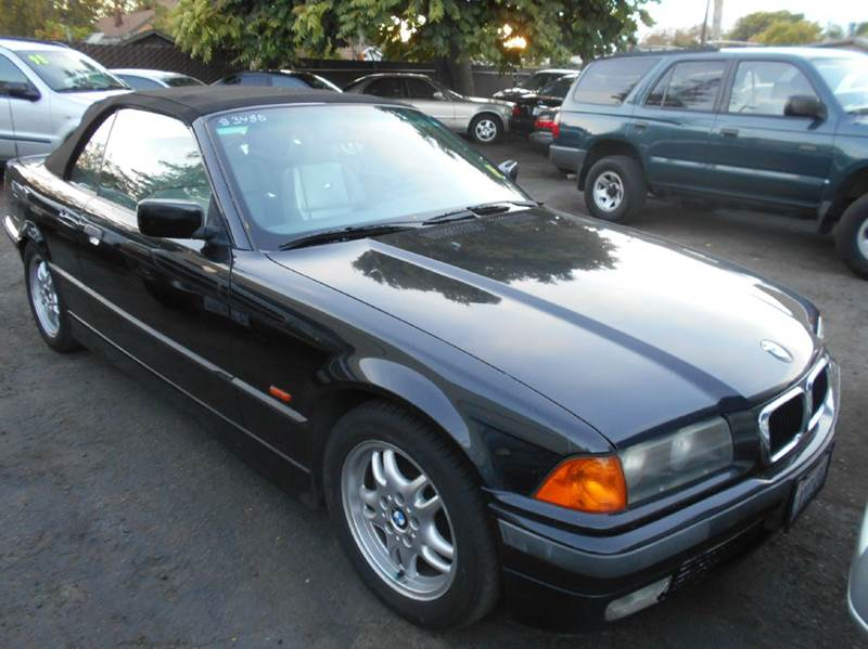 1998 BMW 3 SERIES 328I 2DR CONVERTIBLE black abs - 4-wheel cassette center console cruise cont