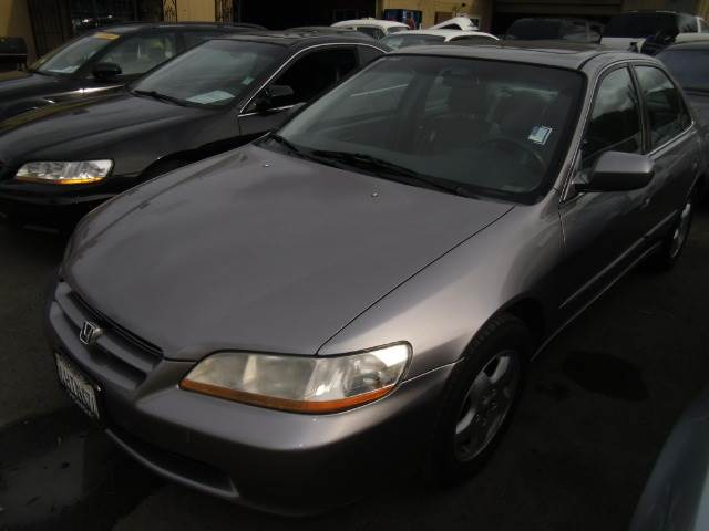 2000 HONDA ACCORD EX V6 SEDAN grey abs brakesair conditioningalloy wheelsamfm radioanti-brak