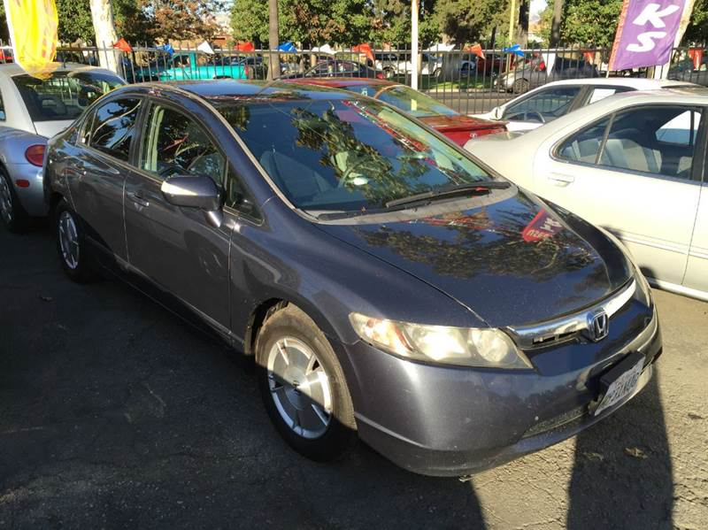 2006 HONDA CIVIC HYBRID 4DR SEDAN black abs - 4-wheel air filtration airbag deactivation - occu