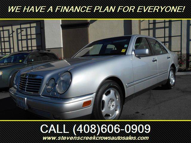1998 MERCEDES-BENZ E-CLASS E430 4DR SEDAN silver abs - 4-wheel anti-theft system - alarm casset