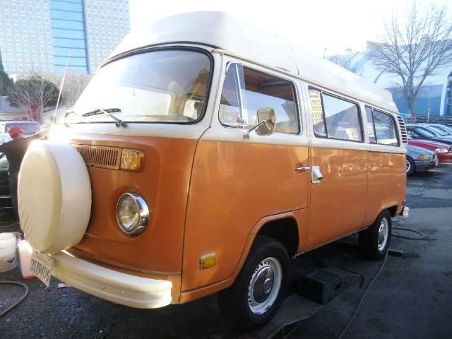 1974 VOLKSWAGEN BUS orange 0 miles