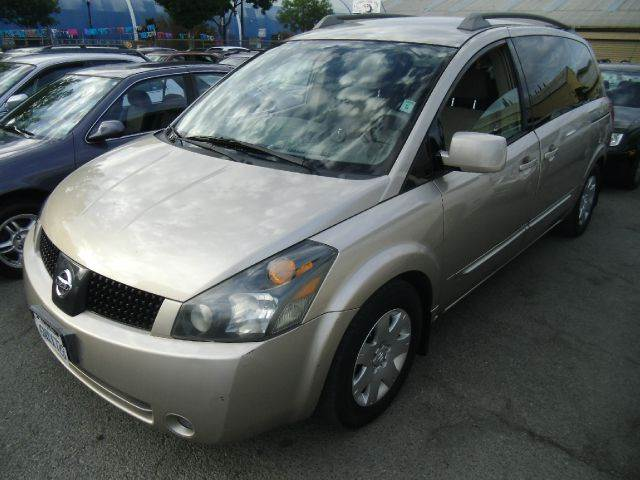 2005 NISSAN QUEST 35 S 4DR MINIVAN gold abs - 4-wheel anti-theft system - alarm clock cruise