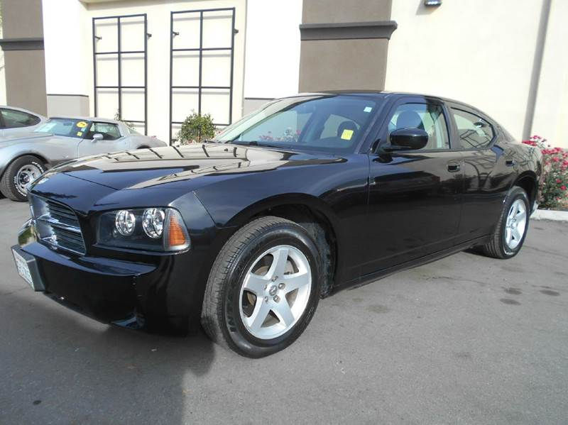 2010 DODGE CHARGER SE 4DR SEDAN black 2-stage unlocking doors air filtration airbag deactivatio
