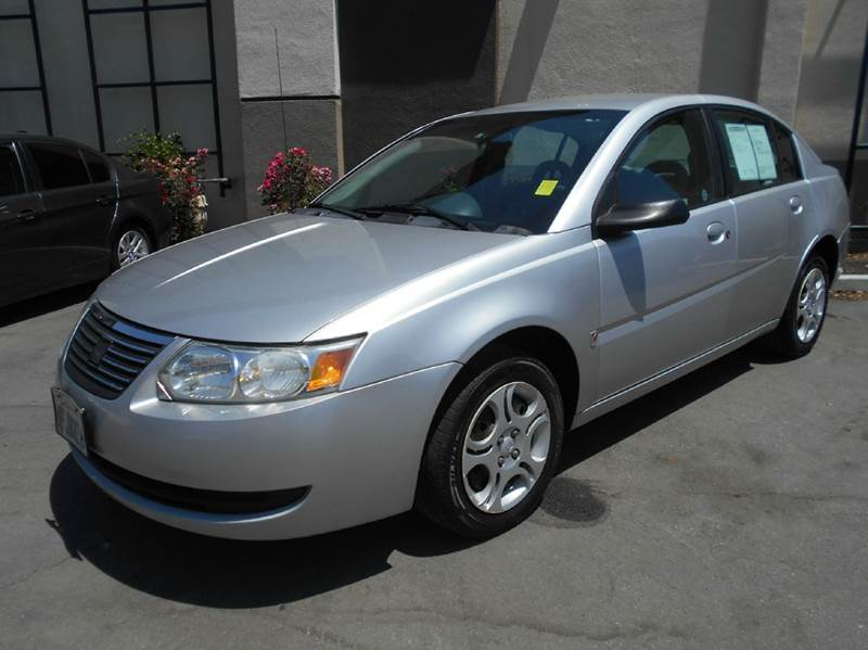 2005 SATURN ION 2 4DR SEDAN silver center console - front console with storage clock daytime ru