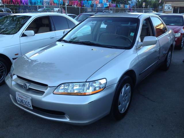1999 HONDA ACCORD LX V6 SEDAN