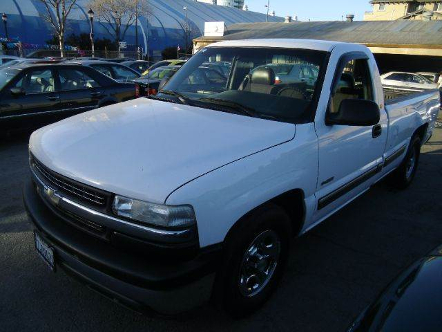 1999 CHEVROLET SILVERADO 1500 REGULAR CAB LONG BED 2WD white abs brakesamfm radioanti-brake sys