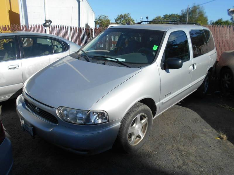 2000 NISSAN QUEST GXE 4DR MINI VAN silver abs - 4-wheel anti-theft system - alarm cassette cen