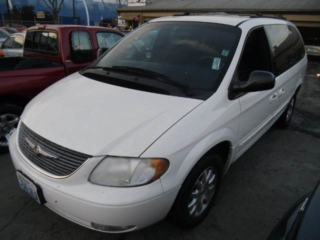 2001 CHRYSLER TOWN  COUNTRY LXI white abs brakesair conditioningamfm radioanti-brake system