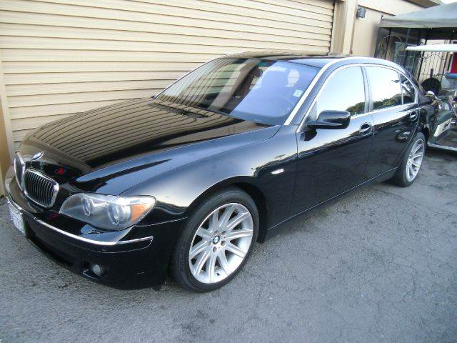 2006 BMW 7 SERIES 750LI 4DR SEDAN black abs - 4-wheel active suspension air filtration airbag