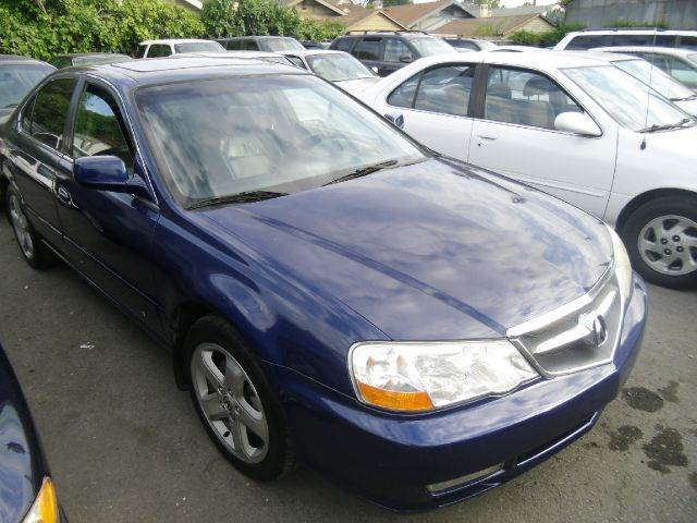 2002 ACURA TL 32 TYPE-S WNAVI 4DR SEDAN blue abs - 4-wheel alloy wheels anti-theft system - a