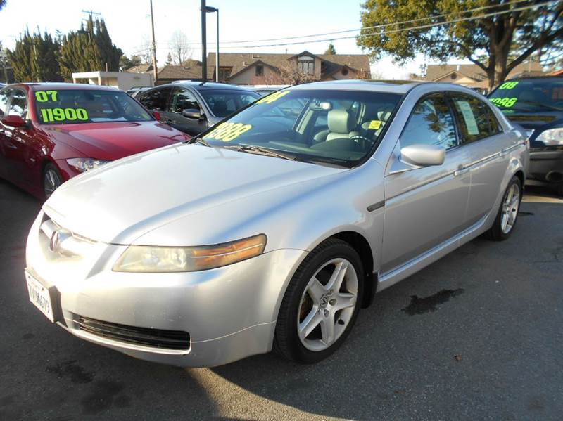 2004 ACURA TL 32 4DR SEDAN silver abs - 4-wheel antenna type - diversity anti-theft system - a