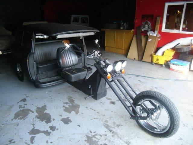 1972 VOLKSWAGEN SQUAREBACK CHOPPER black 0 miles VIN 1111111111111XXXX