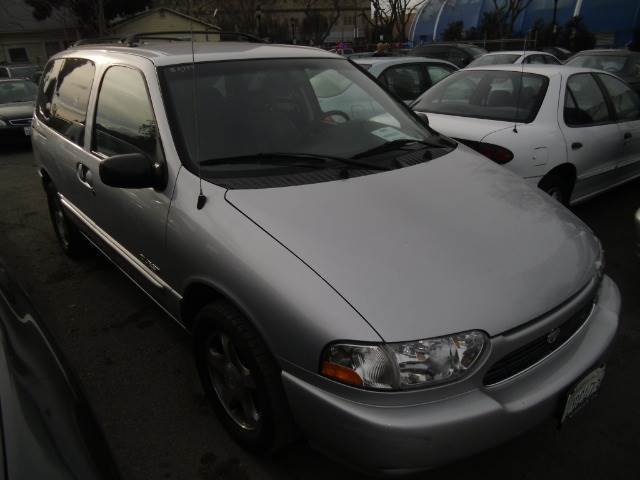 2000 NISSAN QUEST SE-CLOTH silver abs brakesair conditioningalloy wheelsamfm radioanti-brake