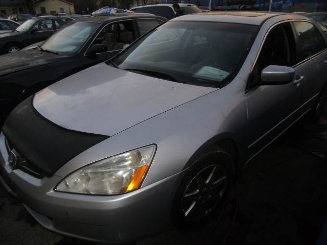 2003 HONDA ACCORD LX SEDAN AT silver abs brakesair conditioningamfm radioanti-brake system 4