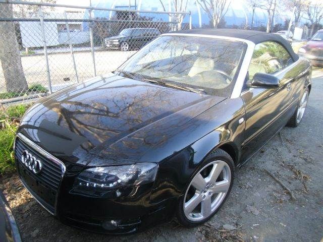 2006 AUDI A4 18T 2DR CONVERTIBLE black abs - 4-wheel air filtration antenna type anti-theft s