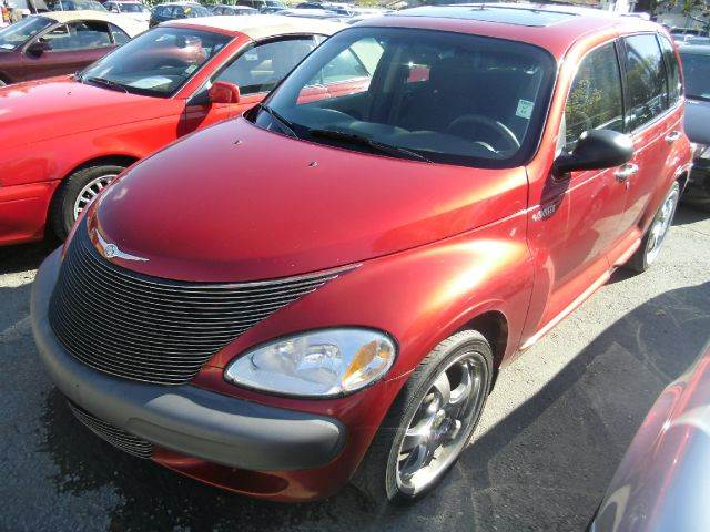 2001 CHRYSLER PT CRUISER red air conditioningamfm radioanti-brake system non-abs  4-wheel abs