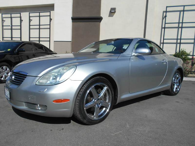 2002 LEXUS SC 430 BASE 2DR CONVERTIBLE silver abs - 4-wheel anti-theft system - alarm cassette