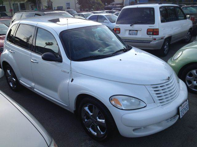2003 CHRYSLER PT CRUISER GT 4DR WAGON white abs - 4-wheel anti-theft system - alarm center conso