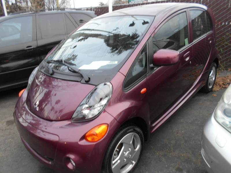 2012 MITSUBISHI I-MIEV ES 4DR HATCHBACK purple abs - 4-wheel air filtration airbag deactivation