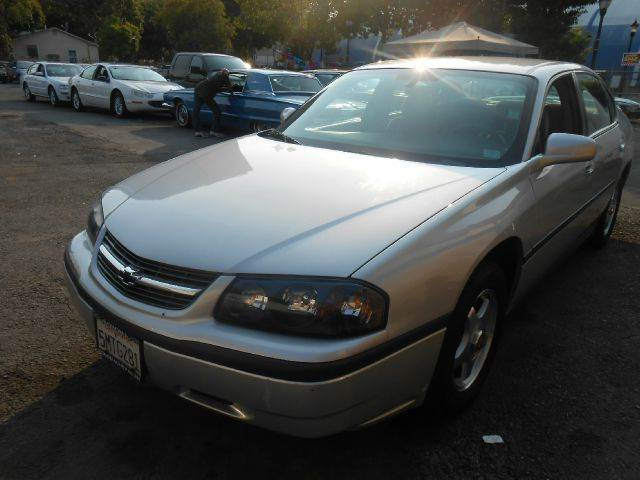 2004 CHEVROLET IMPALA silver air conditioningamfm radioanti-brake system non-abs  4-wheel ab