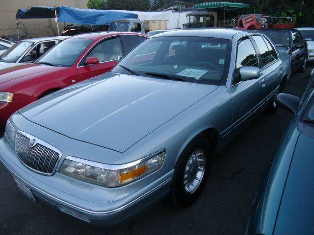 1995 MERCURY GRAND MARQUIS LS green air conditioninganti-brake system non-abs  4-wheel absbody