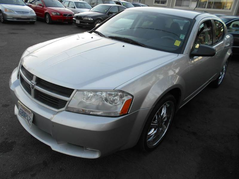 2008 DODGE AVENGER SE 4DR SEDAN silver 2-stage unlocking - remote airbag deactivation - occupant