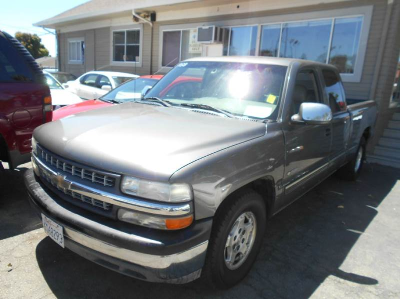 2000 CHEVROLET SILVERADO 1500 LS 3DR EXTENDED CAB SB gray abs - 4-wheel anti-theft system - alar