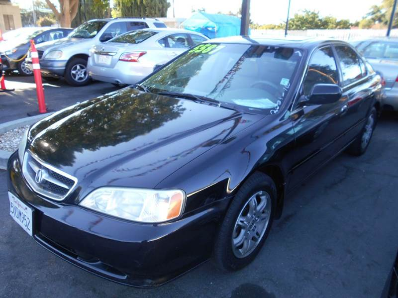2001 ACURA TL 32 4DR SEDAN black abs - 4-wheel anti-theft system - alarm cassette center cons