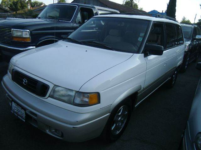 1998 MAZDA MPV LX 4DR PASSENGER VAN white abs - 4-wheel cruise control exterior mirrors - power
