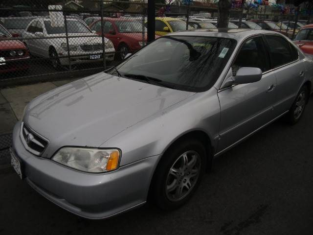 2001 ACURA TL 32TL silver abs brakesair conditioningalloy wheelsamfm radioanti-brake system