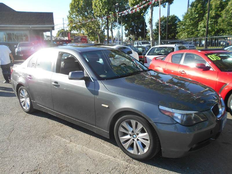2007 BMW 5 SERIES 550I 4DR SEDAN gray 2-stage unlocking doors abs - 4-wheel air filtration - act