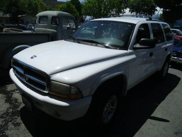2002 DODGE DURANGO SLT PLUS 4WD 4DR SUV white 16 inch wheels abs - rear-only alloy wheels axle